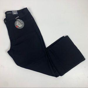 Avenue Bootcut Butter Black Stretch Denim Jeans